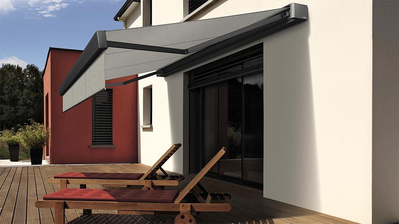 markisen sonnenschutz f r vielf ltigen einsatz am haus. Black Bedroom Furniture Sets. Home Design Ideas